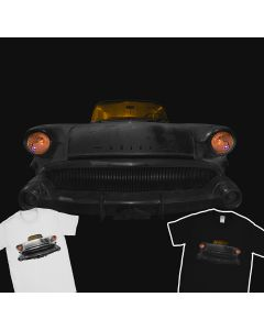1957 Buick Century Wagon T-Shirt 100% Cotton