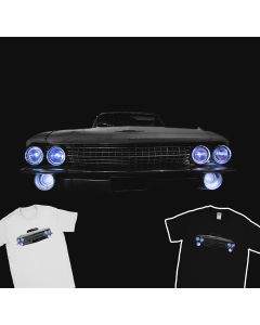 1961 Cadillac Deville T-Shirt Vintage Car 100% Cotton
