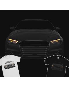 Audi S3 2016 T-Shirt 100% Cotton