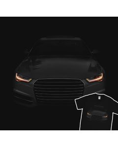 Audi A6 T-Shirt Black 100% Cotton