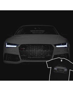 Audi RS7 S7 A7 T-Shirt 100% Cotton