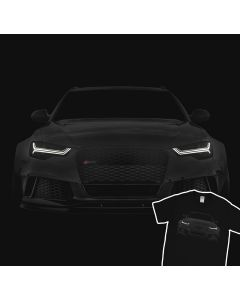 Audi RS6 S6 A6 T-Shirt 100% Cotton