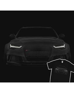 Audi RS6 S6 A6 T-Shirt 100% Cotton