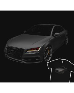 Audi S7 2013 T-Shirt 100% Cotton