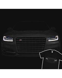 Audi S8 Plus 2016 T-Shirt 100% Cotton