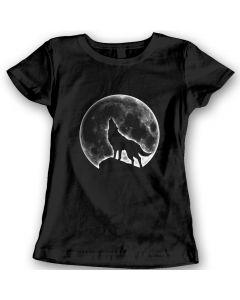 Wolf Moon T-Shirts Ladies Gift Idea 100% Cotton Holiday Christmas Gift Birthday