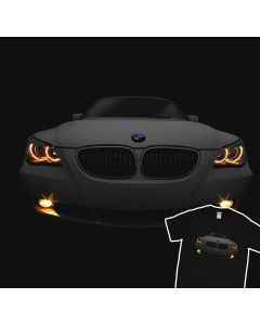 E60 530 BMW The Devil T-Shirt 100% Cotton