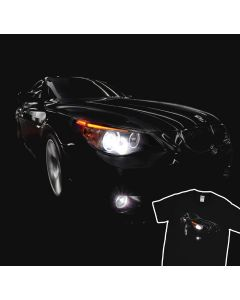 In Motion E60 530 BMW T-Shirt 100% Cotton