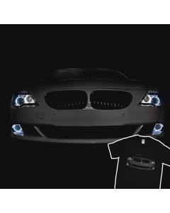 BMW E63/E64 6 Series T-Shirt Angel Eyes Headlights Glow Tuning