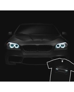 BMW M5 F11 T-Shirt Blue Angel Eyes