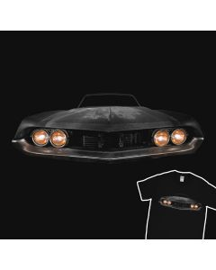 Classic Car Junkyard T-Shirt 100% Cotton