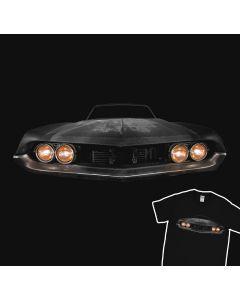 Classic Car Junkyard T-Shirt 100% Cotton