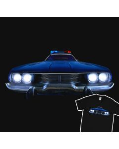 Dodge Charger 1970 Sheriff T-Shirt Plice Car