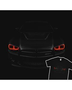 Dodge Challanger SRT Angel Eyes Demon HALOs Rings T-Shirt