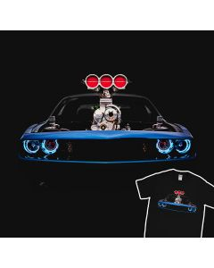 Blown Challenger SRT T-Shirt 100% Cotton