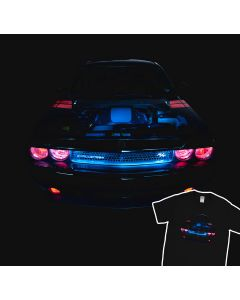 Dodge Challenger R/T The Devil T-shirt 100% Cotton
