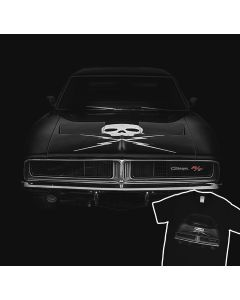 Dodge Charger R/T 1969 Skull T-Shirt