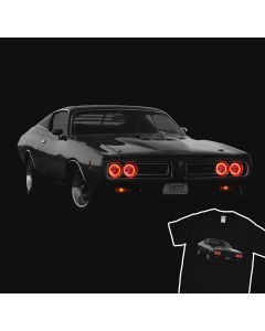 Dodge Charger 1971 Super Bee Headlights Muscle Racing Car T-shirt