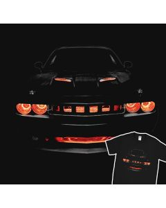 Dodge Challenger R/T Musclecar Auto Racing Car T-shirt