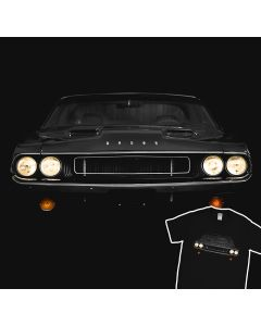 1970 Dodge Challenger Vanishing Point T-shirt