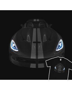 Dodge Viper 2013 Super Sport Car T-Shirt 100% Cotton