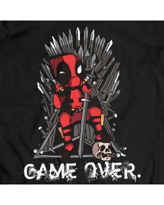 Deadpool vs Game of Thrones T-Shirt, Marvel Comics Shirt 100% Cotton