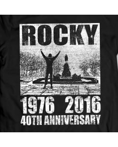 Rocky Balboa Arms Up T-Shirt Men Gift Idea ROCKY Movie