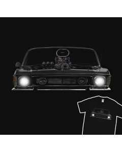 1973 Blown Falcon GT T-Shirt 100% Cotton