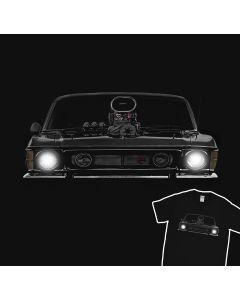 1973 Blown Falcon GT T-Shirt 100% Cotton