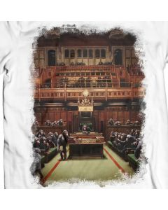 Monkey Parliament T-Shirt Design by Banksy