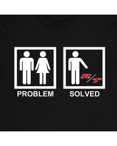 Dodge R/T Problem Solved Funny T-Shirt Challenger Charger Mens Gift Idea 100% Cotton