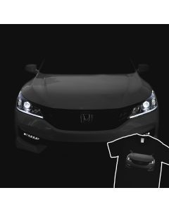 2016 Honda Accord EX-L T-Shirt V6 Led Halos Headlights Glow