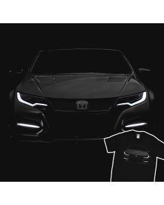 2016 Honda Civic Type R T-Shirt 100% Cotton