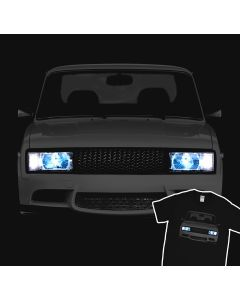 Lada VAZ 2105 T-shirt Tuning Riva Lights 100% Cotton