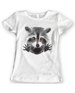 Raccoon It's Not Me Funny T-Shirts Ladies Gift Idea 100% Cotton