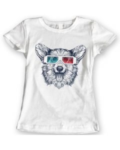 Pembroke Welsh Corgi Dog T-Shirts Ladies Mens Tees 100% Cotton