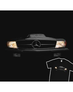 Mercedes Benz SL r107 500 Headlights Glow T-Shirt