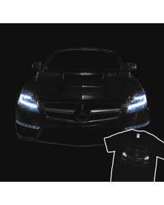 Mercedes CLS 63 AMG Headlights Glow T-Shirt