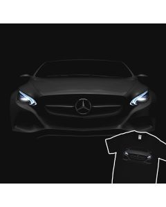 Mercedes Benz AMG GT S Headlights Glow T-Shirt