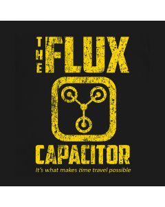 The Flux T-Shirt Back To The Future Inspired Capacitor Delorean Movie