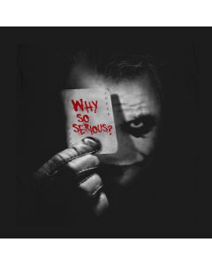 The Joker - Why so Serious? T-Shirt Movie Comics Batman DarKnight