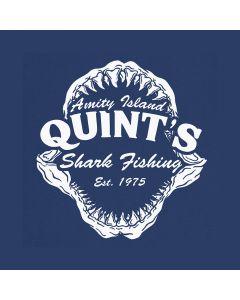 Quint's Shark Jaws Fishing Amity Island 70's Movie T-Shirt