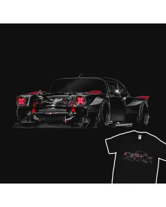 Ford Mustang Twin Turbo Custom Hot Rod T-Shirt
