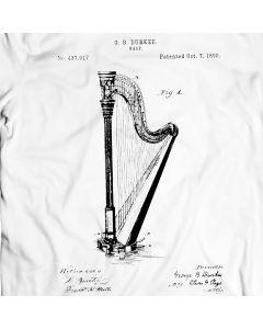Durkee Harp 1890 T-Shirt Music Tee