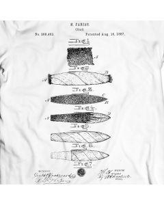 Farias Cigar 1887 T-Shirt 100% Cotton