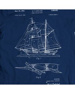 Gowland Model Ship 1954 Saltwater Sea T-Shirt