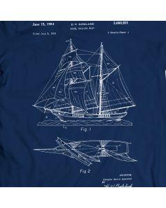 Gowland Model Ship 1954 Saltwater Sea T-Shirt