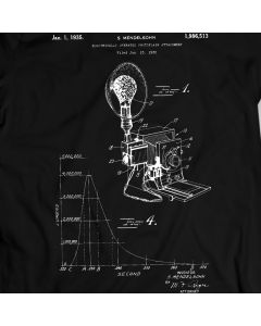 Mendelsohn Photoflash 1935 T-Shirt Photography Camera Flashlight