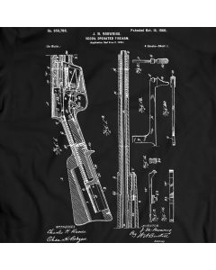 Remington Recoil Operated Firearm T-Shirt Gift Idea Birthday Present
