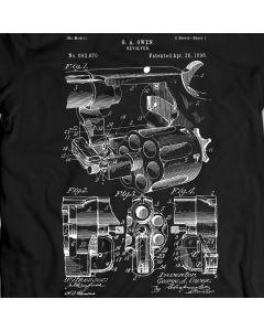 Owen Revolver Patent T-Shirt 100% Cotton